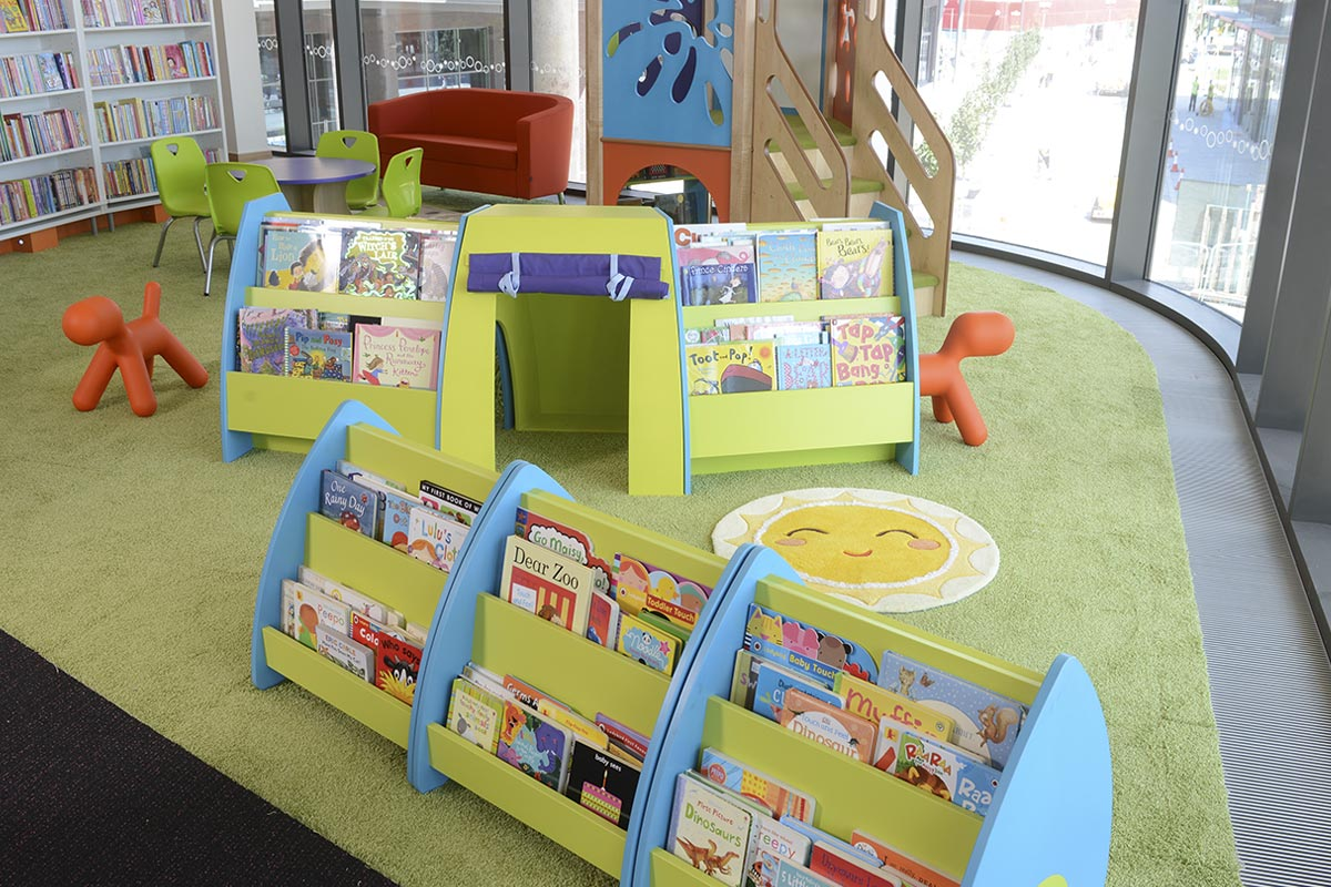 Library ground floor childrens area