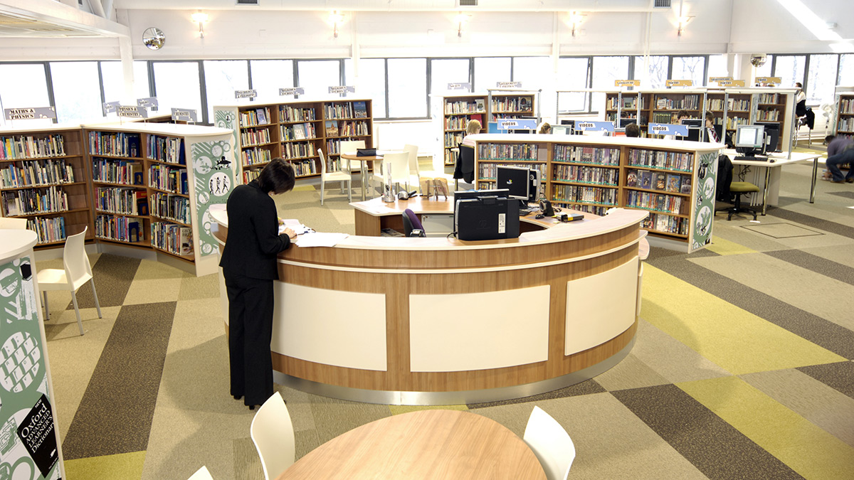 Planning a project  Opening the Book provides library design. School Library Design Gallery