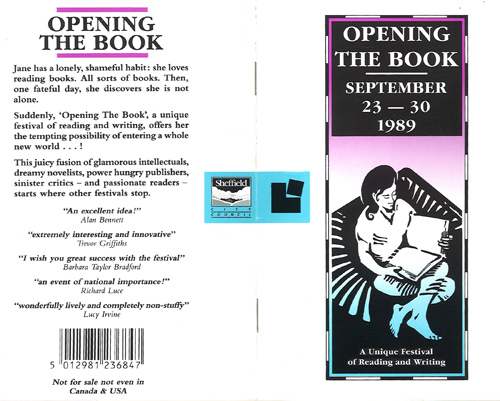 about opening the book