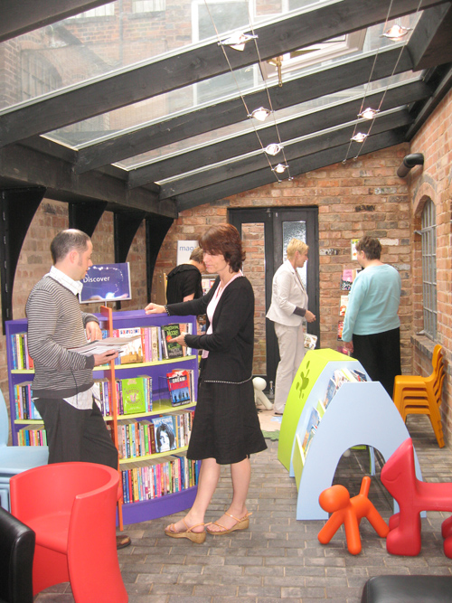 Opening the Book Promotions moves to its own office and showroom in the historic Jewellery Quarter in Birmingham