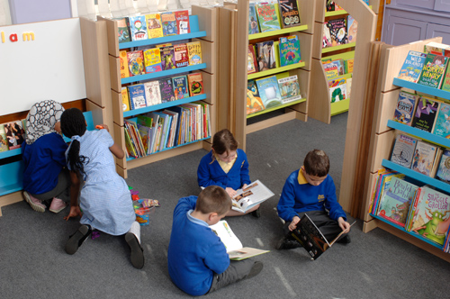 We introduce our BookSpace concept to change the presentation of reading in primary schools