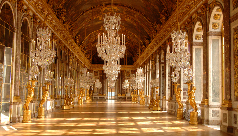 Mirror Ballroom of Versailles