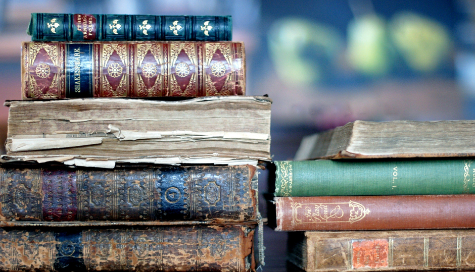 Readers often say that they love the scent of old books