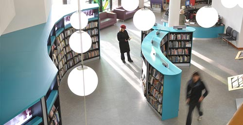 Working with architects and contractors in library design projects