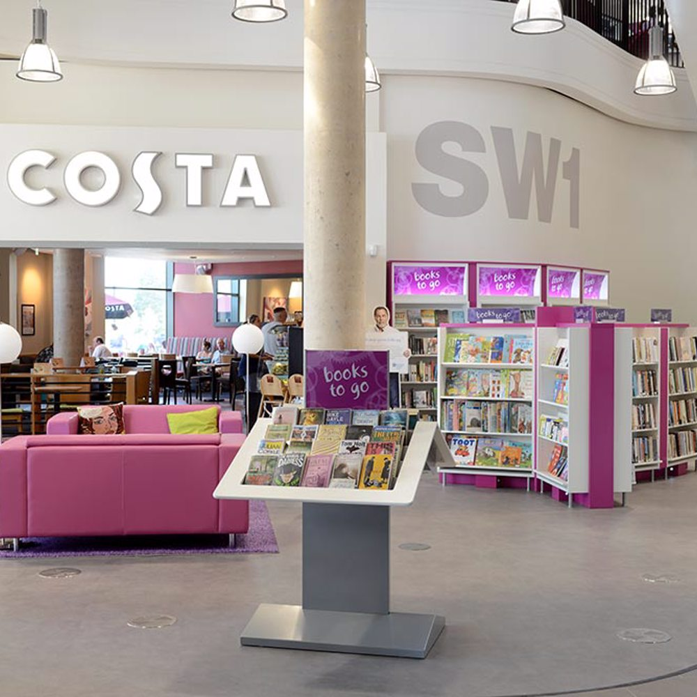 Books to go, Southwater Library (Telford)