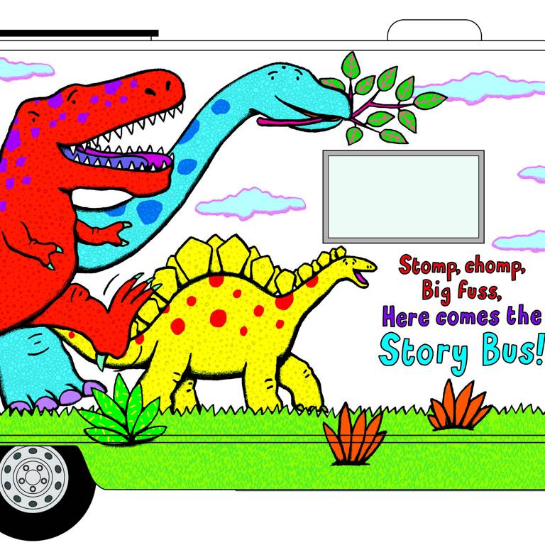 Nelly the Story Bus