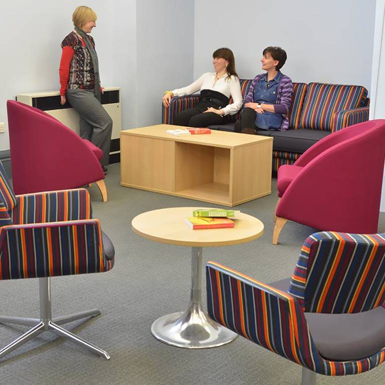 Comfortable seating, Gateshead Central Library