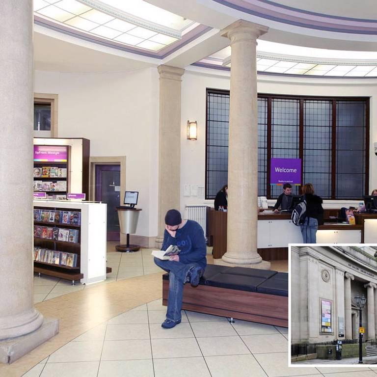 Bolton Library 'Upfront' area, Bolton