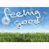 Library Graphic: Feeling good