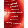 Library Graphic: Academic addicted