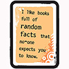 I like books full of random facts that no-one expects you to know
