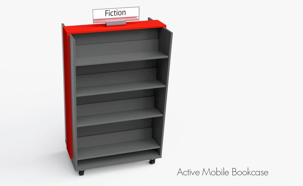 Active Mid Floor Mobile Shelving