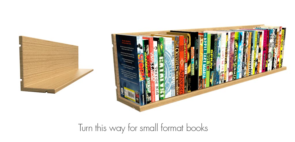 Active Is Supplied With Clever L Shaped Shelves Which Can Be Turned In The Bookcase To Hold Small And Large Format Books You Also Order Special Display