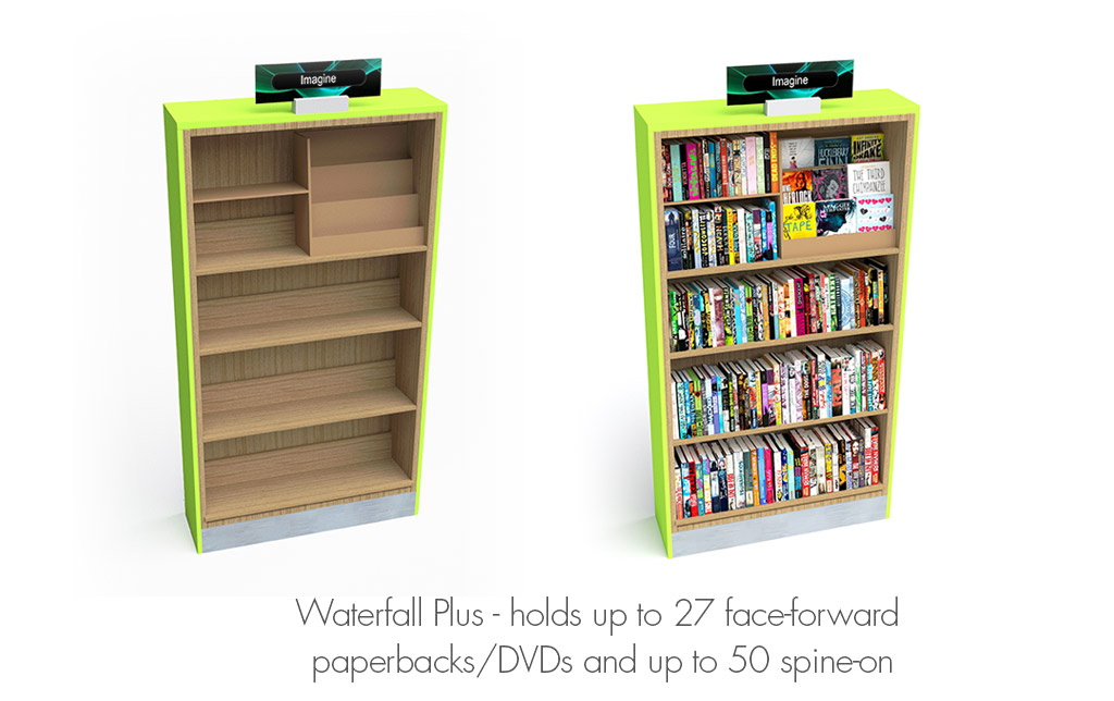 Add These Neat Face Forward Display Units To An Performance Bookcase Create Instant High Impact Simply Remove One Standard Shelf And Slide The