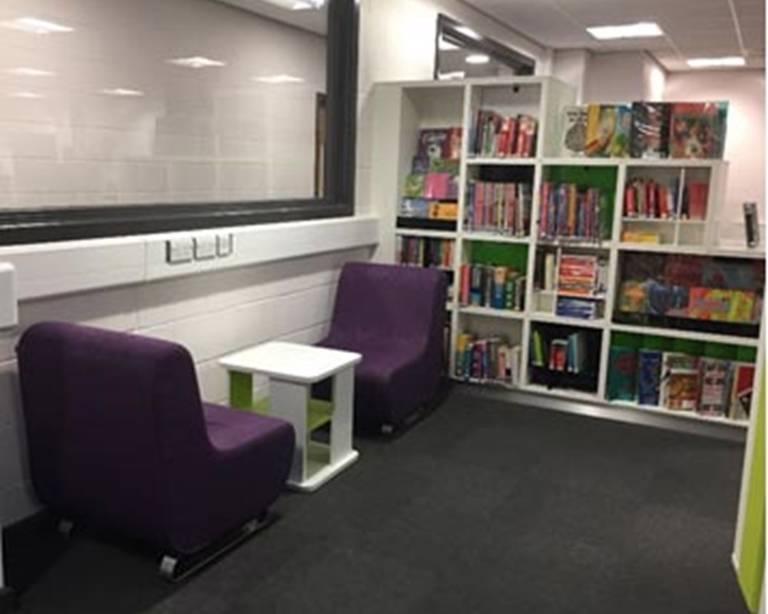 Informaal seating, Nottingham Trent University