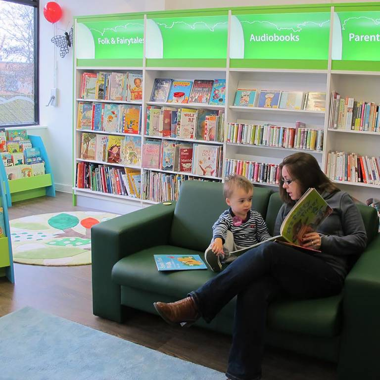 Space to share a book, South Woodford Library