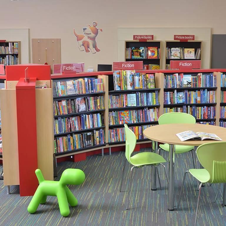 Children's area, Gateshead Central Library