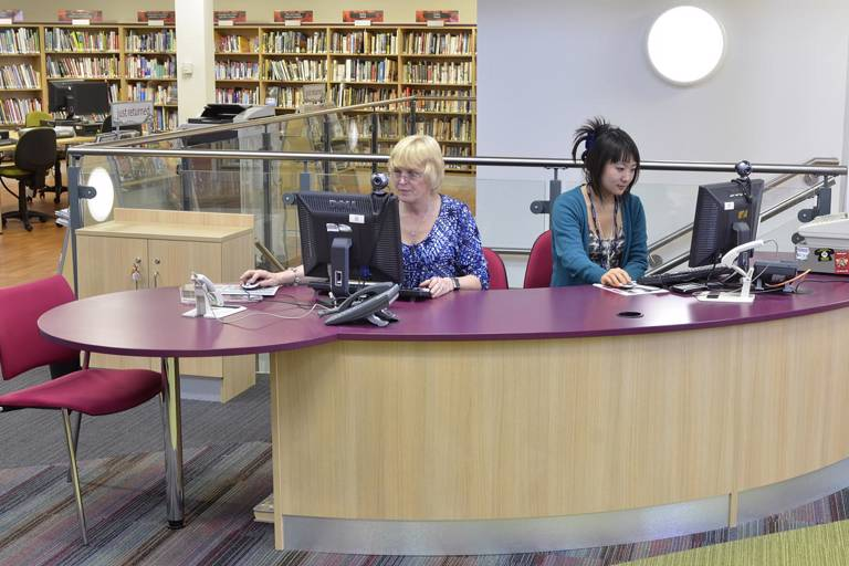 Risca Palace Library reception
