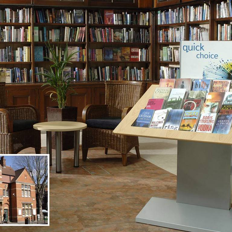 Wimbledon Library, Merton