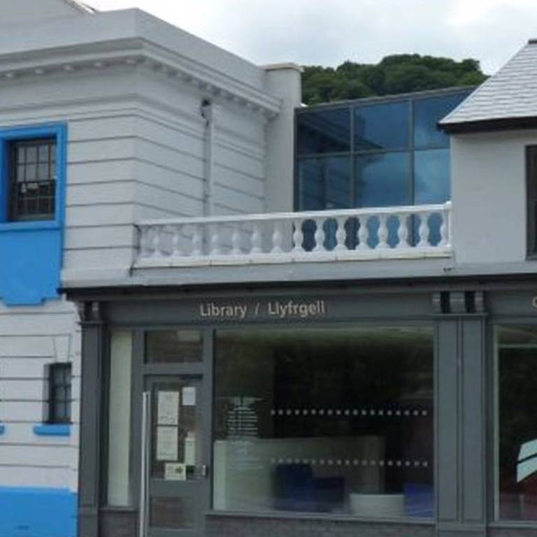 Risca Palace Library