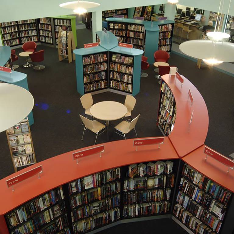 Discovery layout, Yate Library