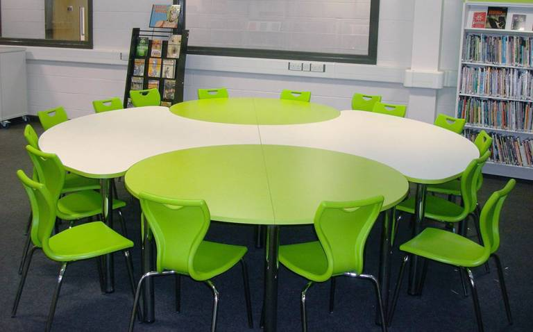 Core table combines with Orbit tables to accommodate large groups