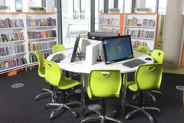 PC Desks in Children's section