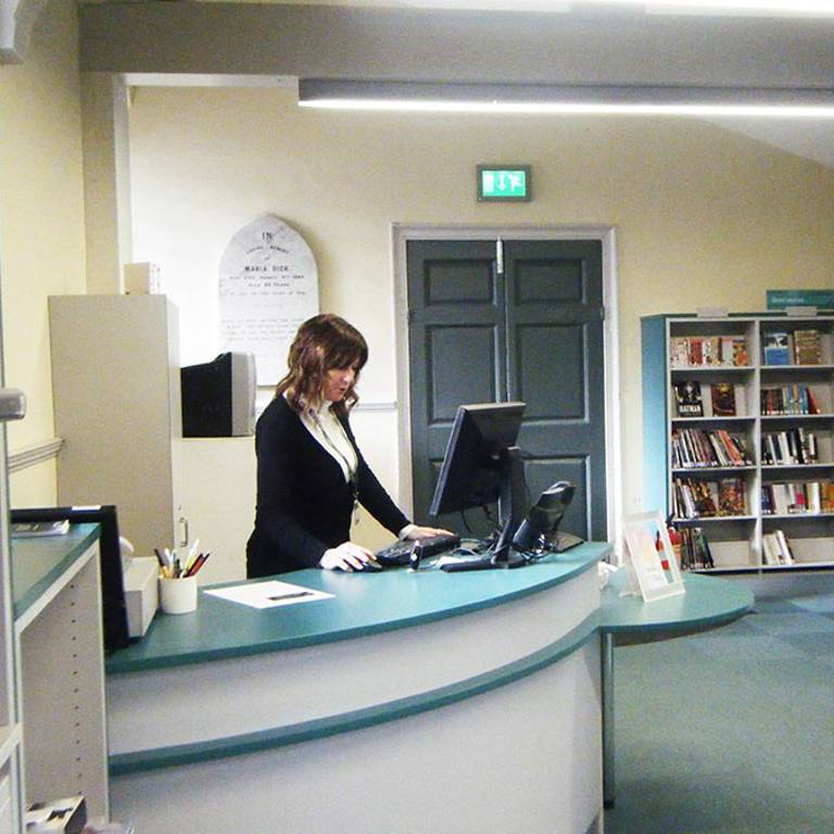Small counter, St Aubyns Library Church