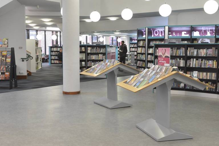 Redbridge Central Library view