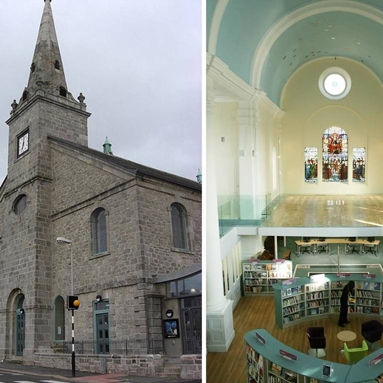 St Aubyns Library Church Plymouth