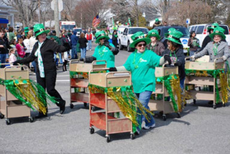 For sheer entertainment value, explore the Book Cart Drill Teams in the USA. Watch the videos of synchronised waving, sedate twirling and wobbly reversing.
