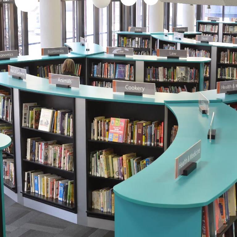 Clear guiding, Redbridge Library
