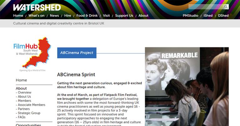 ABC Cinema Sprint