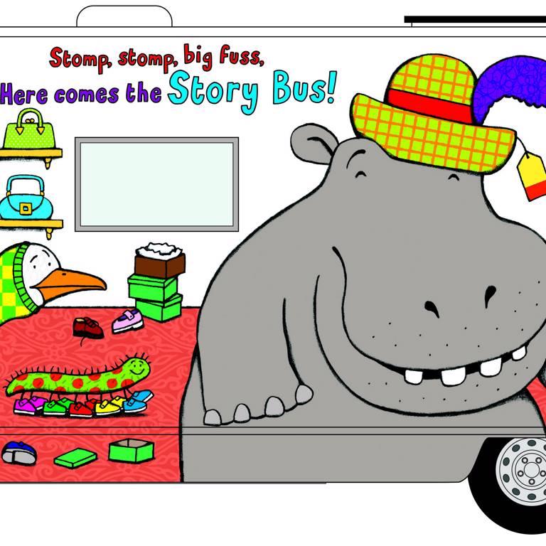 Sam the Story Bus