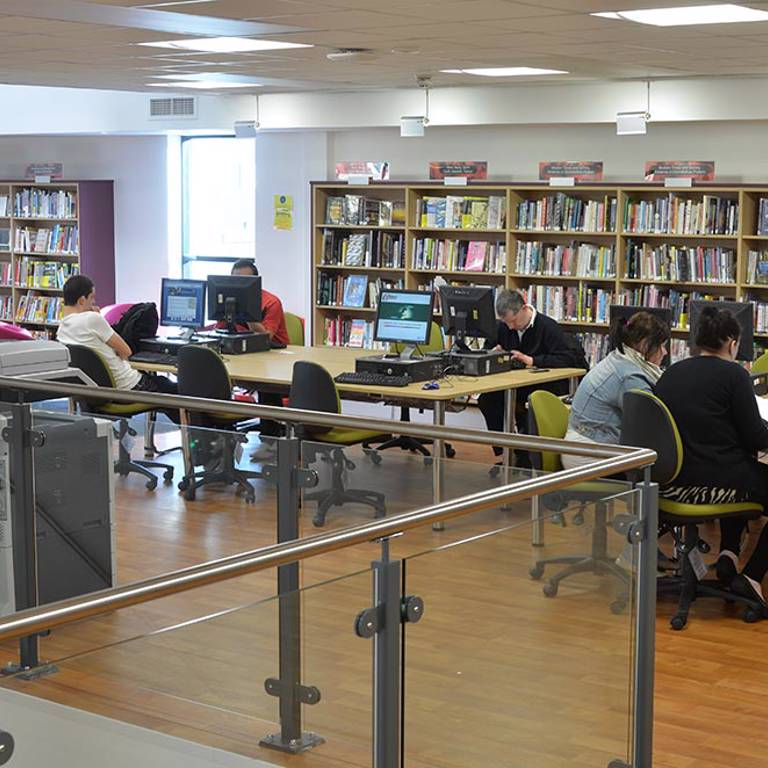 IT and study desks at Risca Palace