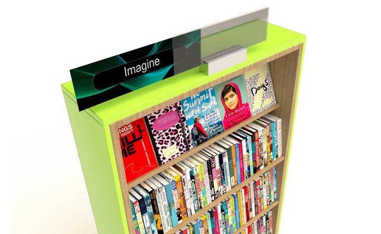 Active Shelving and Signage