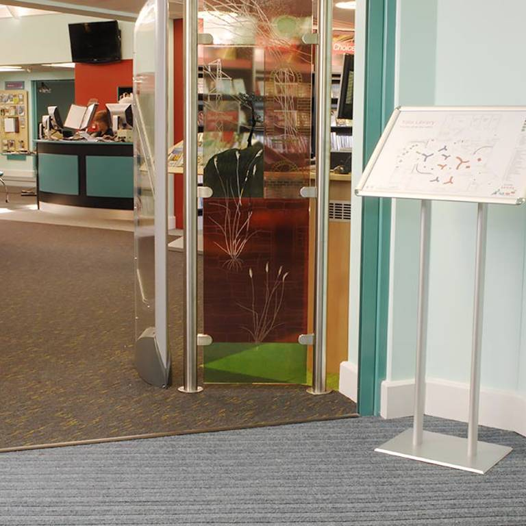 Collection plan, Yate Library