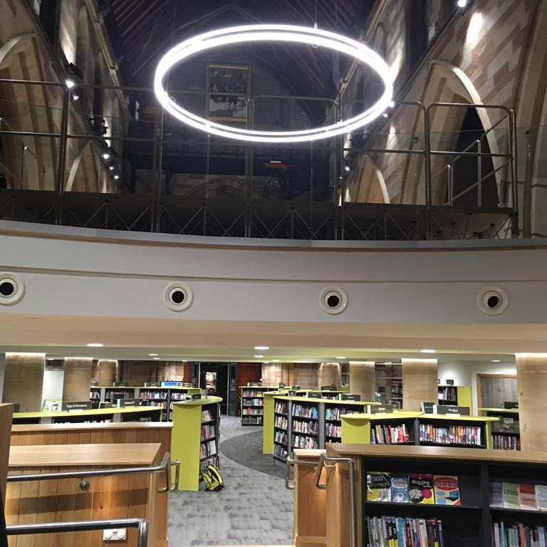 Lichfield Library general view