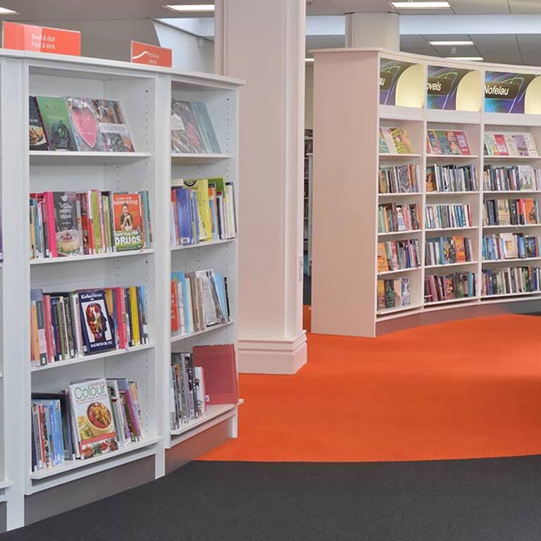 Face-forward display boosts issues, Llandudno Library